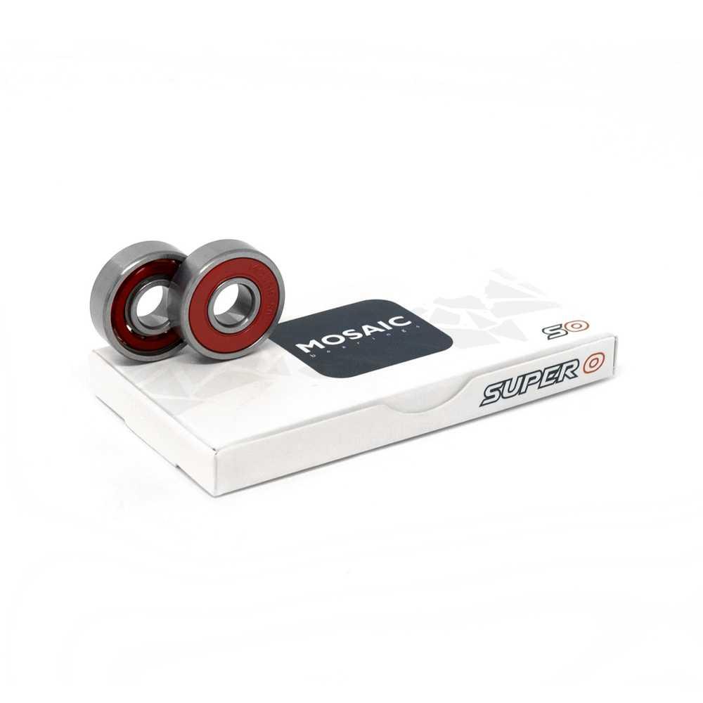 mosaic super 0 bearings and box